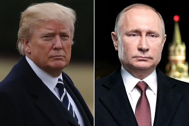 Donald Trump congratulates Putin on re-election