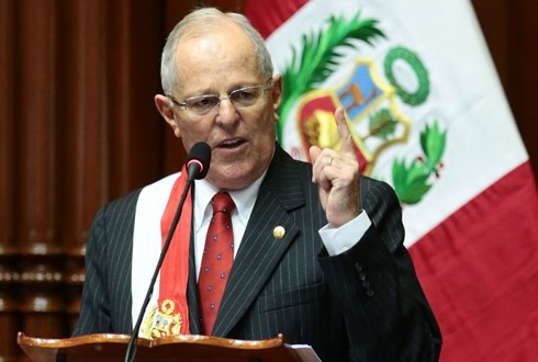 Martin Vizcarra to be sworn in as Peru's President