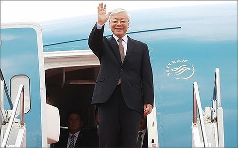 Cuba media highlights General Secretary Nguyen Phu Trong's visit