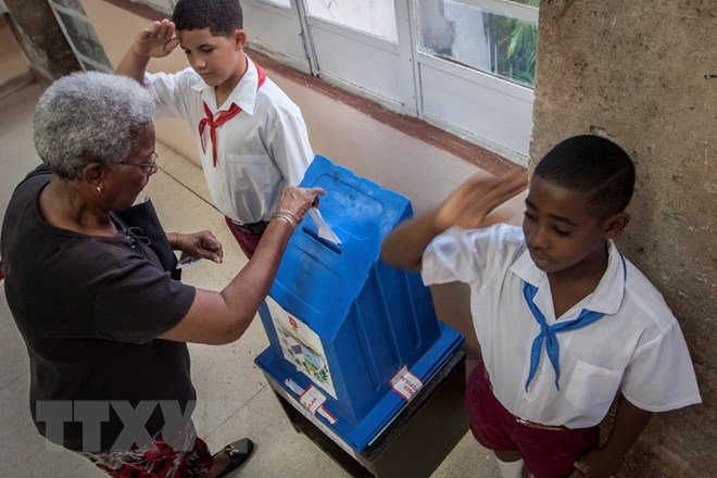 Cuban parliamentary election 2018 begins