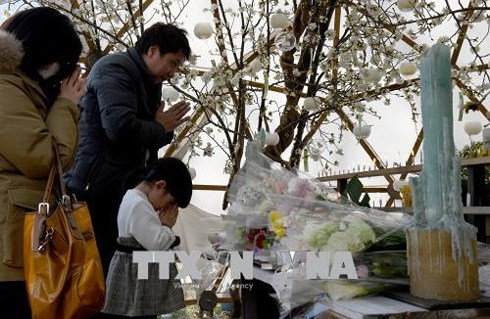 Japan marks 7 years since earthquake, tsunami and nuclear disaster