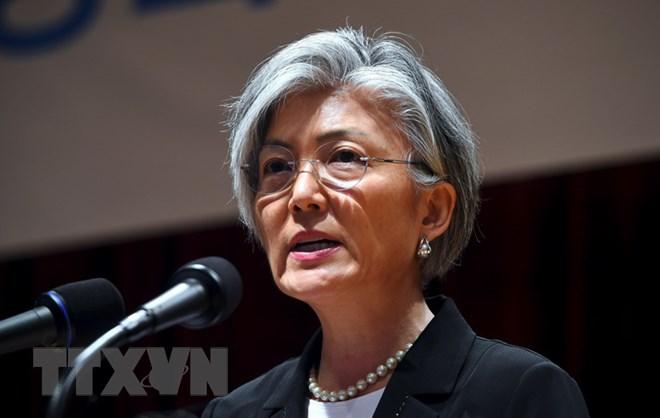 RoK Foreign Minister Kang Kyung-wha visits US