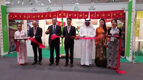 Vietnam participates in international agricultural exhibition in Qatar