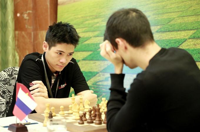 Le Tuan Minh ranked second at HDBank chess tournament 2018