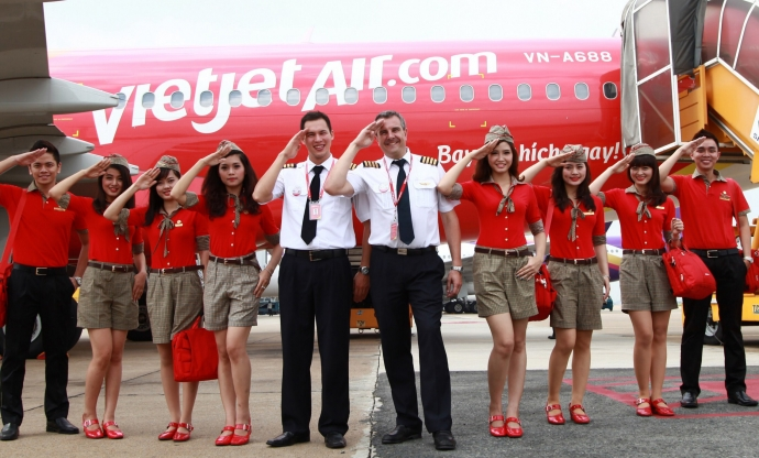 Vietjet named among Vietnam's Top 100 places to work