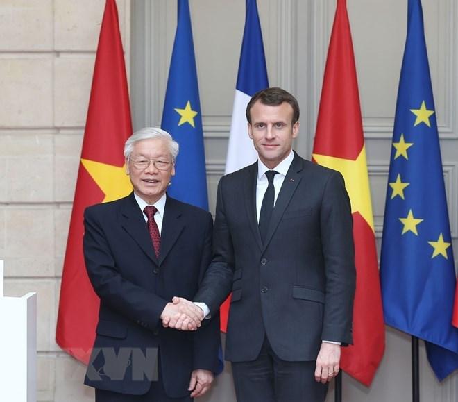 Vietnam, France issue joint statement