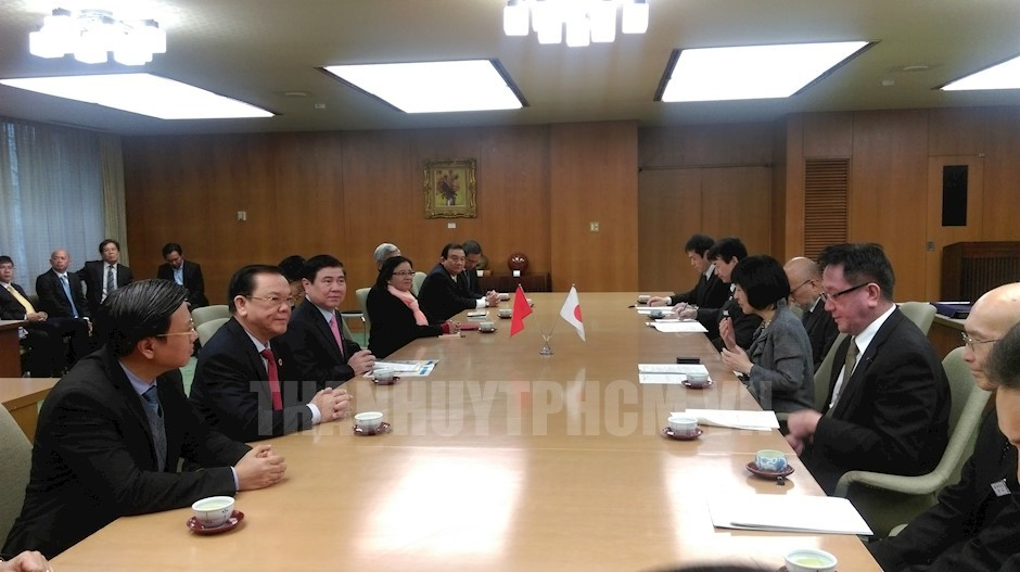 Ho Chi Minh city to increase investment and economic cooperation with Japanese prefecture