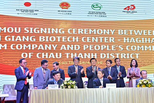 Cooperation between Japan and Mekong River Delta localities to be promoted