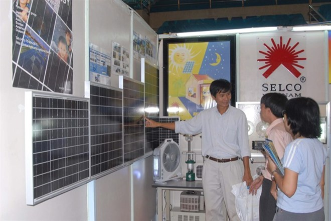 More solar panels installed in HCM City