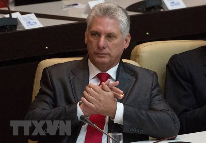 Miguel Diaz-Canel selected as next President of Cuba
