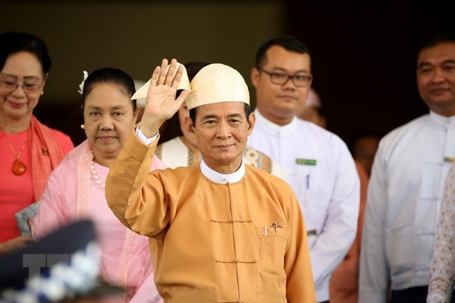 Myanmar President pledges to promote national development
