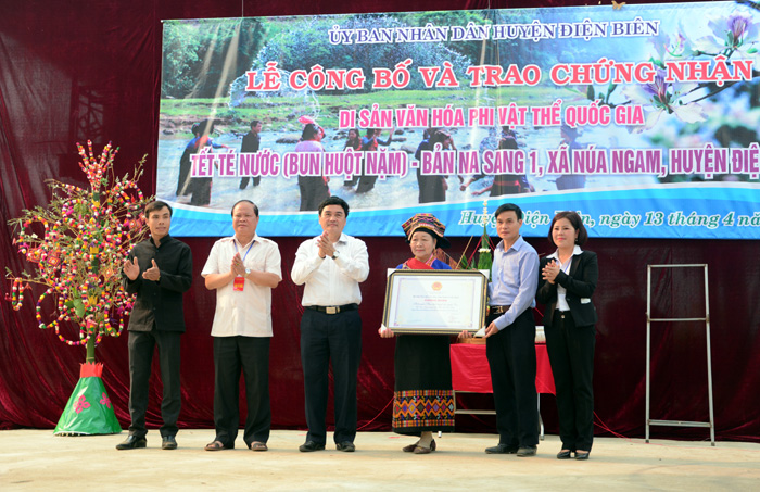 Lao ethnic festival in Dien Bien province recognized as national heritage