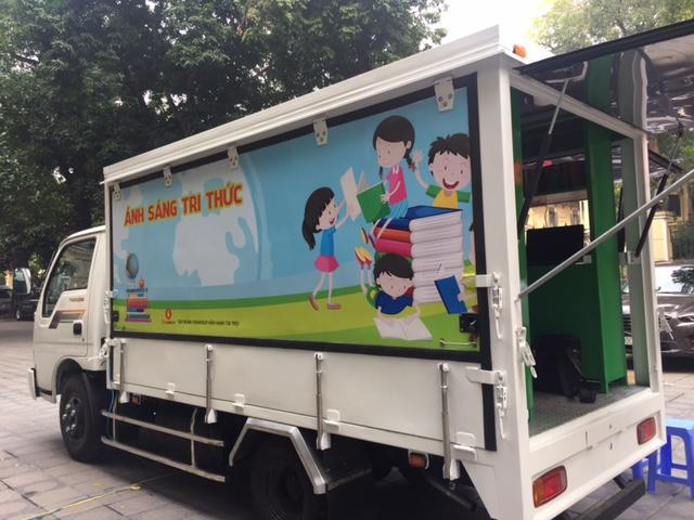 Presenting mobile libraries for remote areas