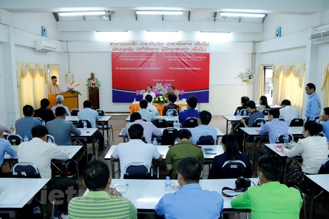Supporting Lao journalists to improve professional skills