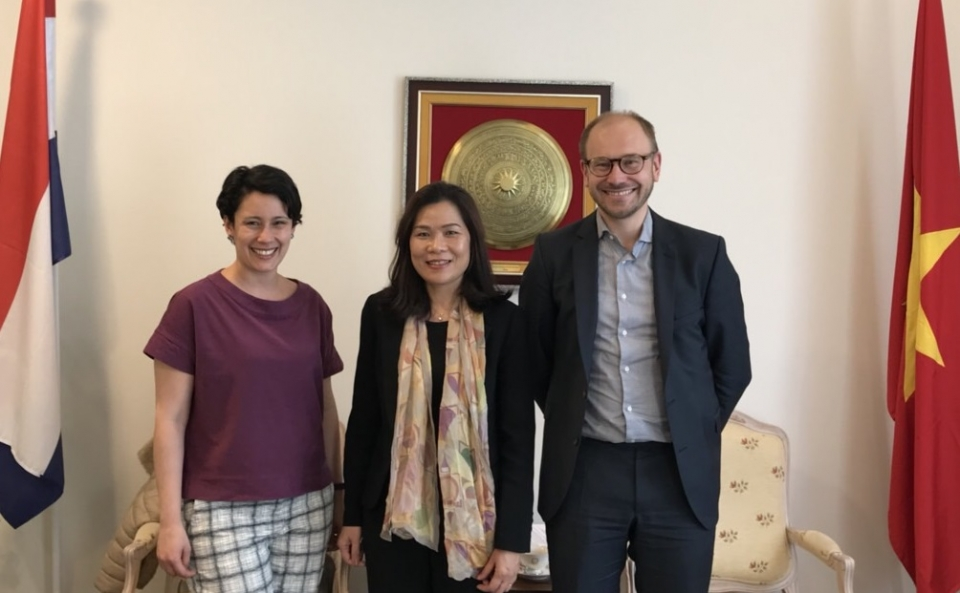 Netherlands wants to cooperate with Vietnam in human resources training