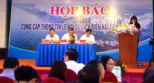 Hai Tien sea tourism festival expects to lure 1.5 million tourists
