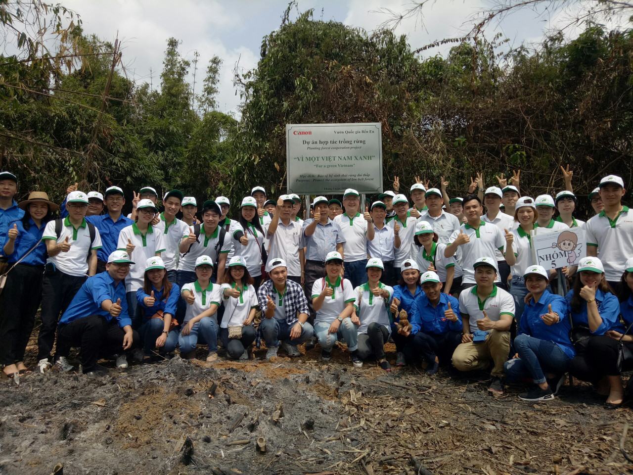 "Thanh Hoa province: Forest planting festival ""For a green Vietnam 2018"""