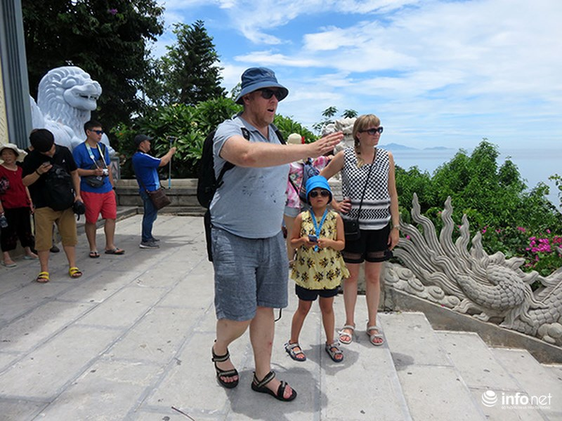 Foreign tourists to Da Nang on the rise