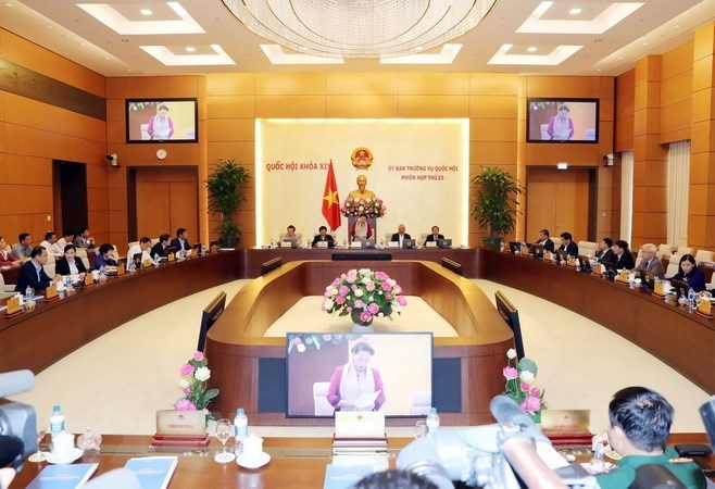 NA Standing Committee convenes 23rd session in Hanoi
