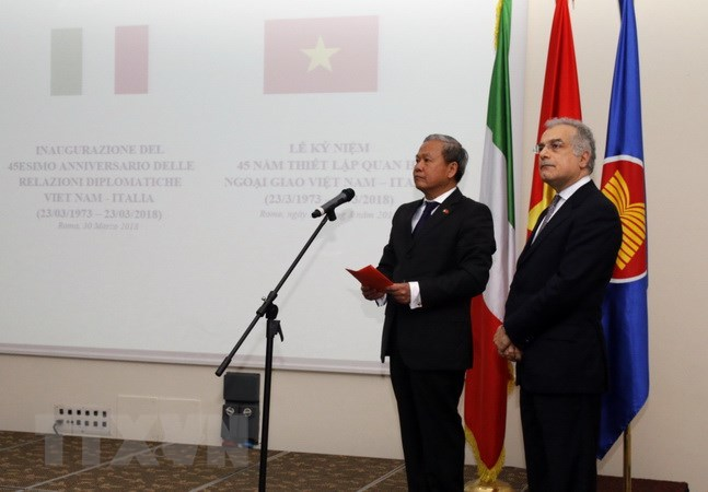 45th anniversary of Vietnam - Italy diplomatic relations marked in Rome