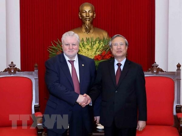 Vietnamese, Russian parties forge ties
