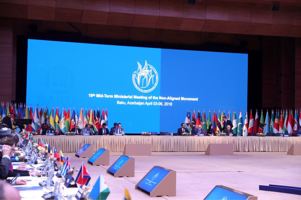 Senior Officials Meeting of Non-Aligned Movement opens in Baku