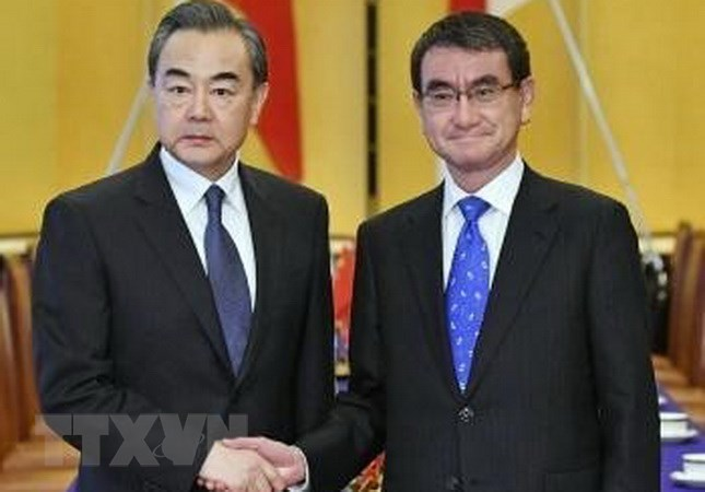 China, Japan vow to promote cooperation