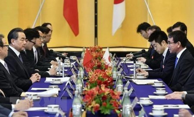 Japan, China hold first high level economic dialogue in eight years