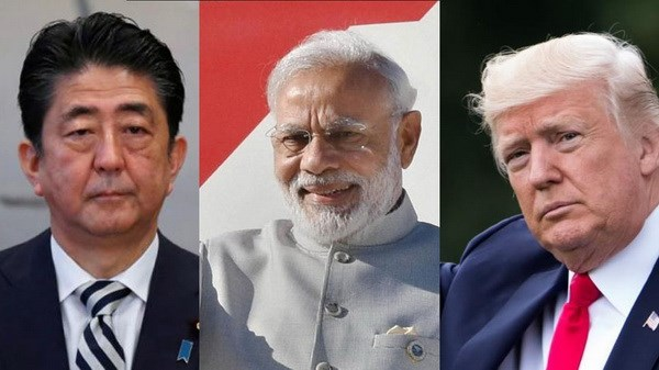 India - Japan - US trilateral dialogue in New Delhi