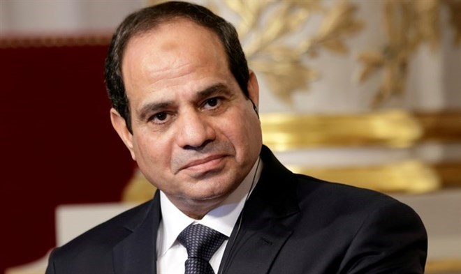 Word leaders congratulate Egypt's President on re-election