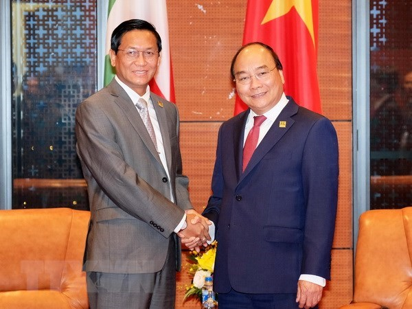 PM welcomes Myanmar Vice President
