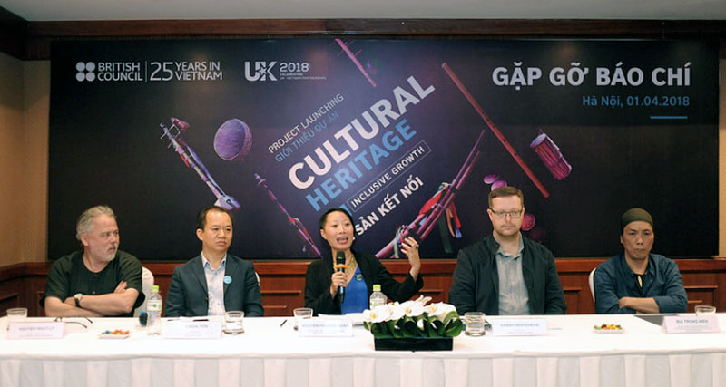 Heritage of Future Past project marks 25th anniversary of British Council in Vietnam