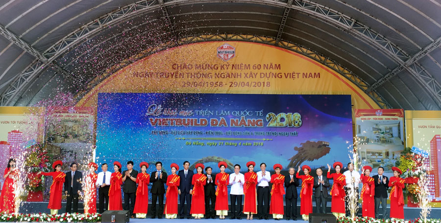 Vietbuild 2018 kicks off in central Da Nang city