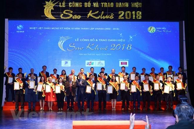 Sao Khue IT winners honoured