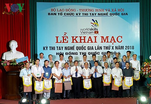 Over 500 candidates join national skills competition