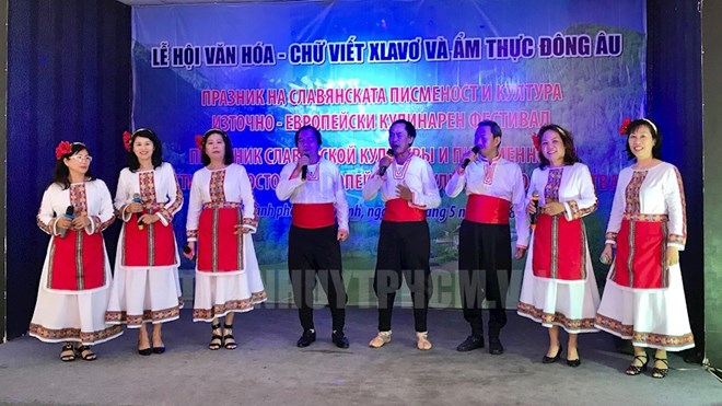 Slavic writing, culture celebrated in HCM City, Hanoi
