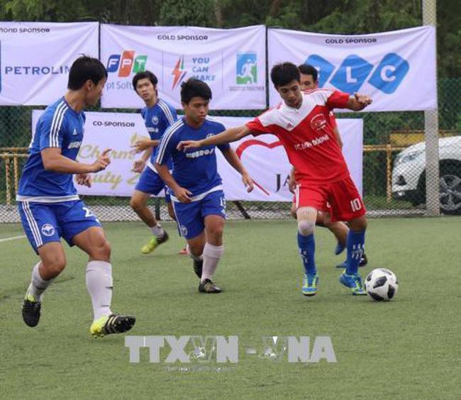 Football tournament of Vietnamese community in Singapore