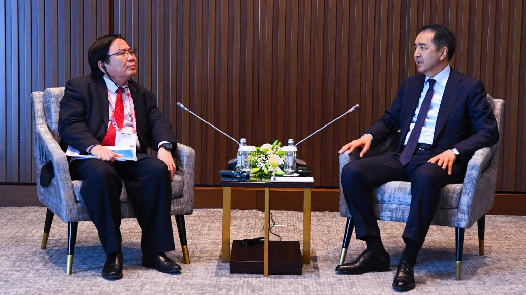Vice-President Wencai Zhang: ADB hopes to strengthen the partnership further with Kazakhstan