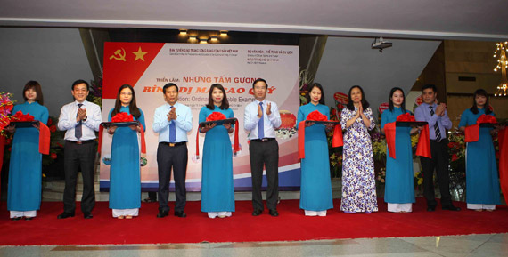 Exhibition honours followers of President Ho Chi Minh's example