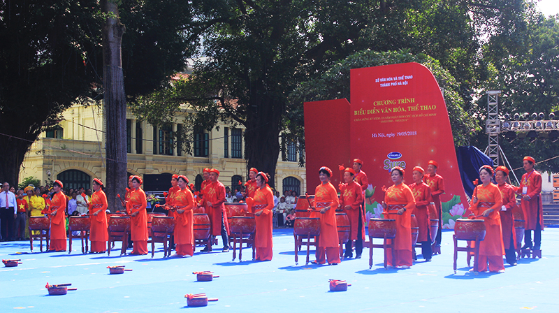 Sports and culture performance marks President Ho Chi Minh's birthday