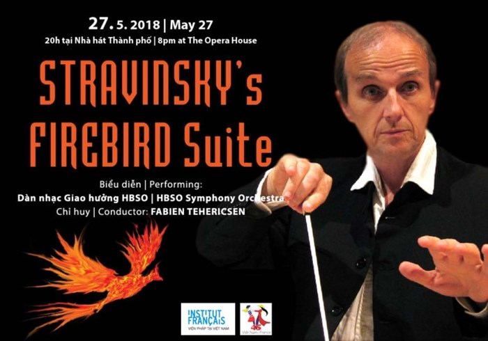 Special artistic performance with French conductor in Vietnam