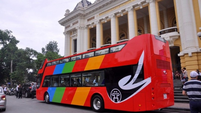 Hanoi to launch open-top bus tour in late May