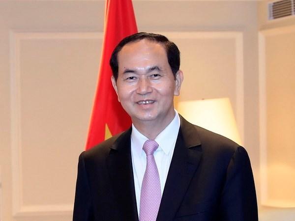 President Tran Dai Quang to pay state visit to Japan