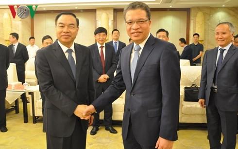 Vietnamese Ambassador to China meets mayor of Chong Qing city