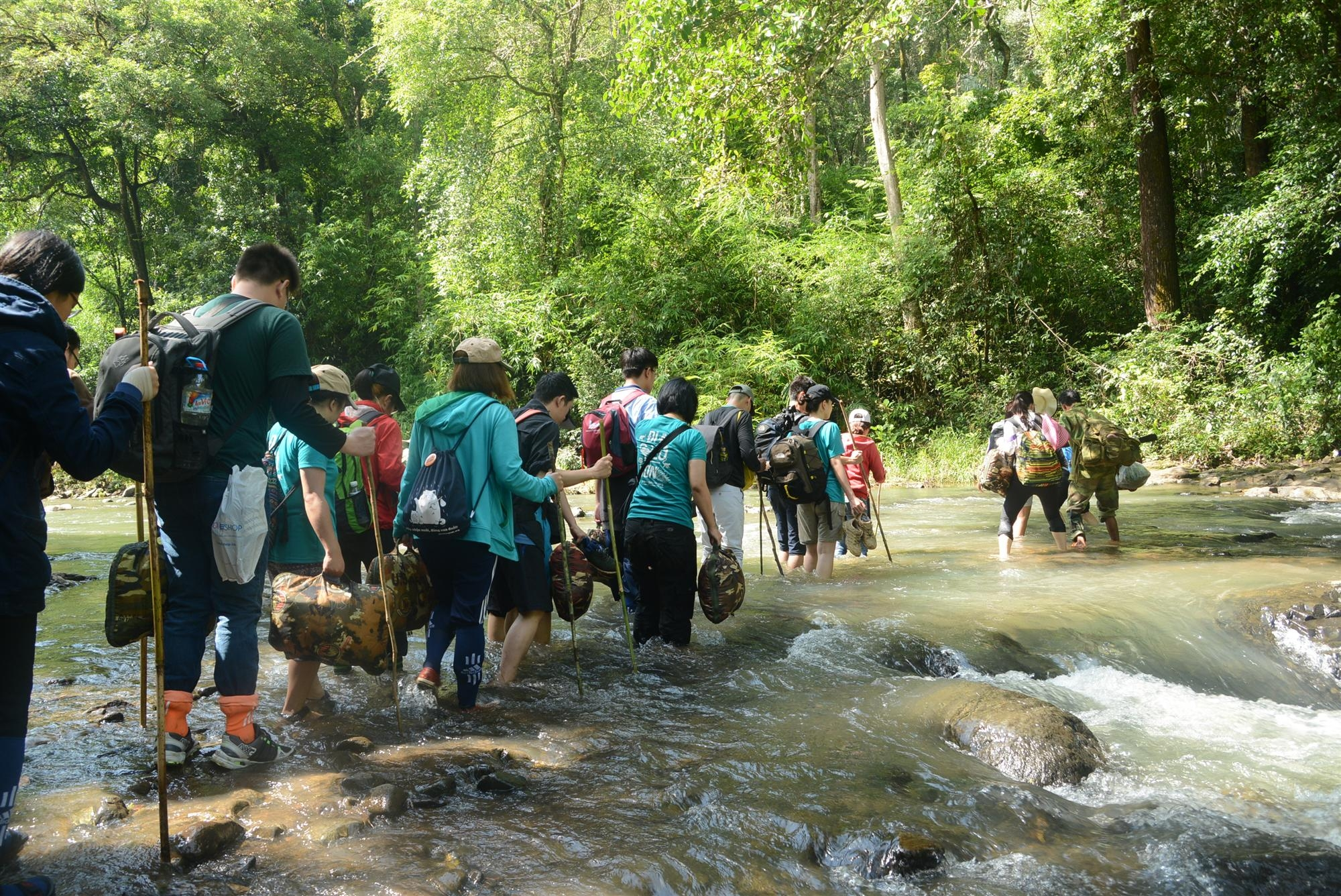 Young people experience conservation jobs