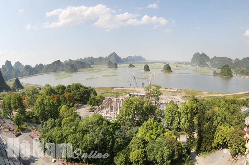 Overall scheme for Tam Chuc national tourism site approved