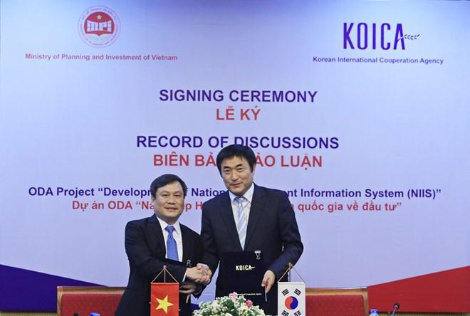 RoK helps Vietnam develop investment information system