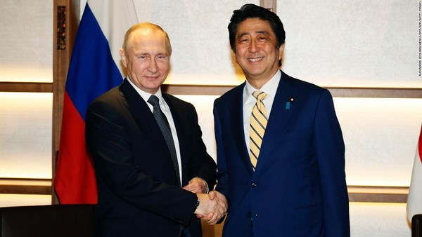 Russian President Vladimir Putin to meet Shinzo Abe