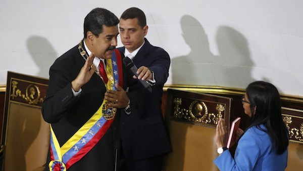 Venezuelan President sworn in for second six-year term