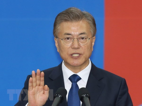 RoK President Moon Jae-in visits US